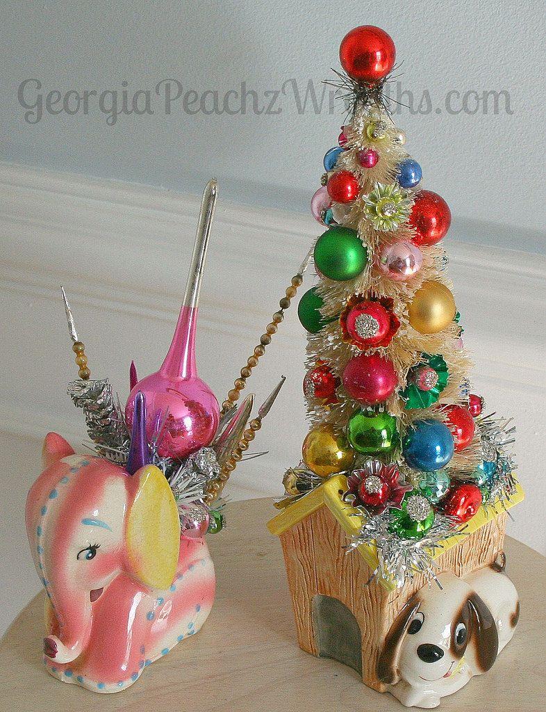 Kitschy Christmas Creations | Tis The Season To Be Jolly | Pinterest