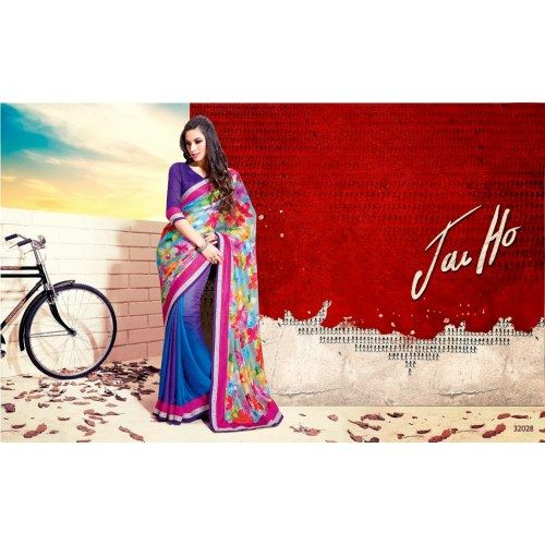 Eye-Catching Designer Saree