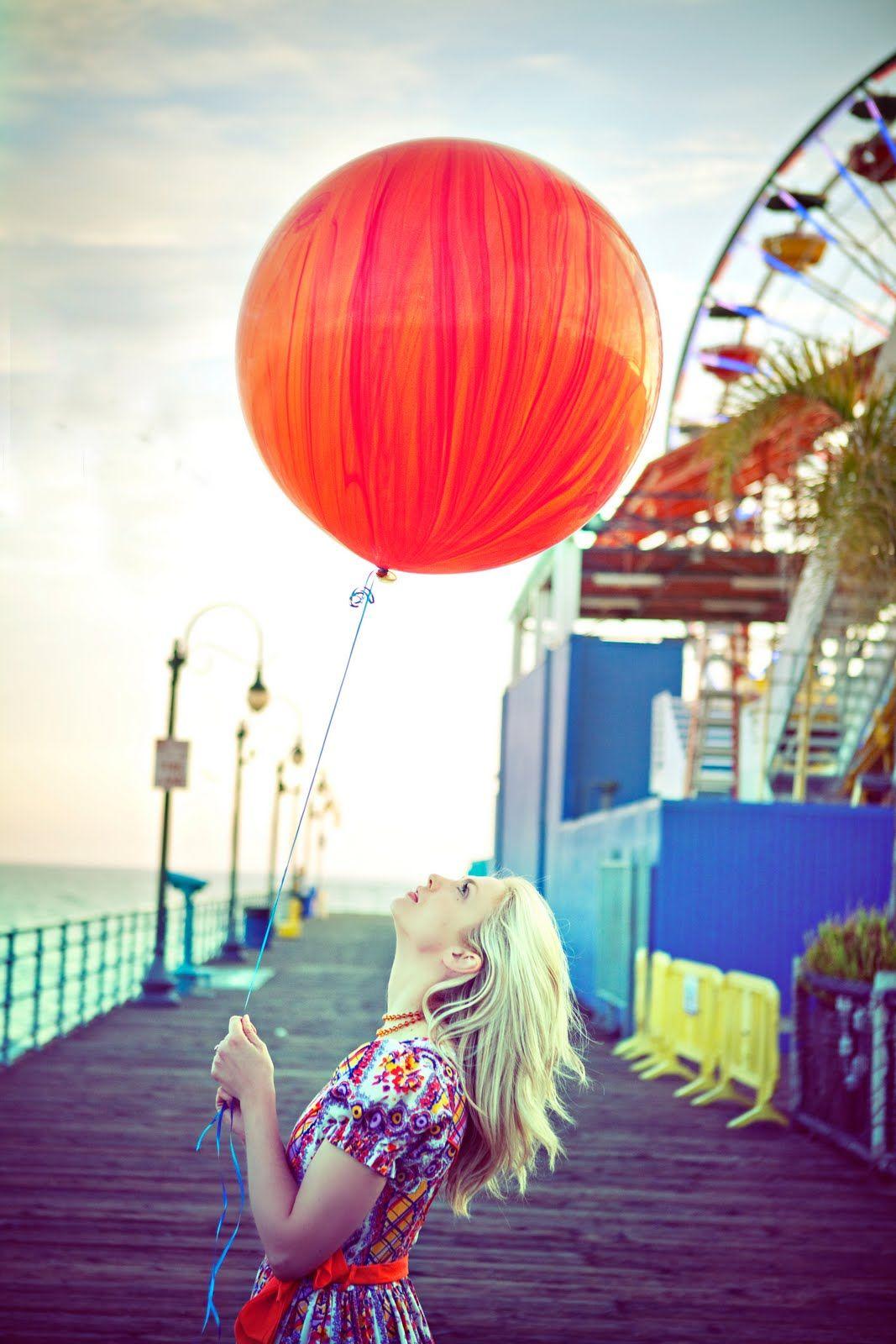 #balloon on #boardwalk