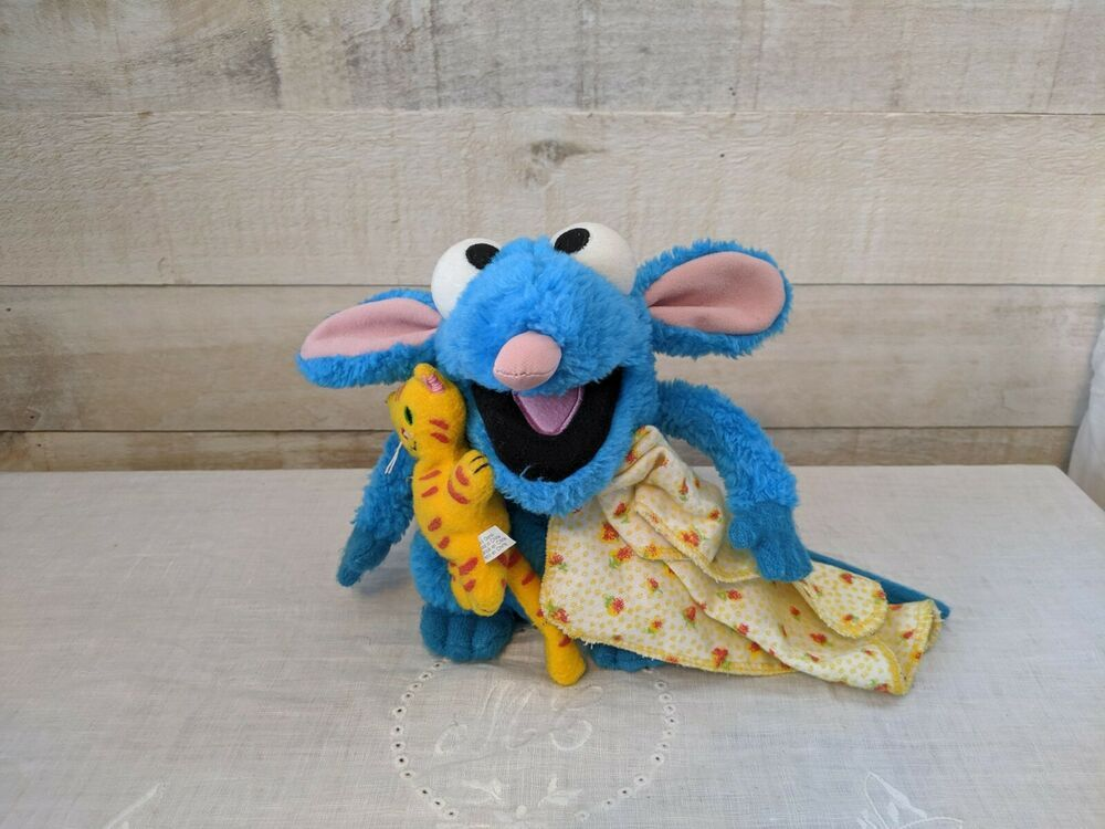 Disney Tutter Mouse Bear In The Big Blue House Plush 7 Inches