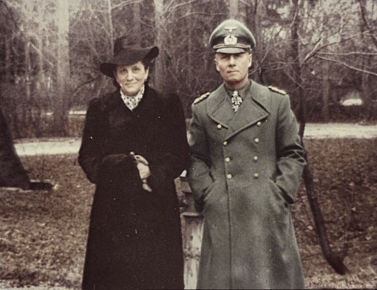 Erwin Rommel with his wife by Julia-Koterias on DeviantArt