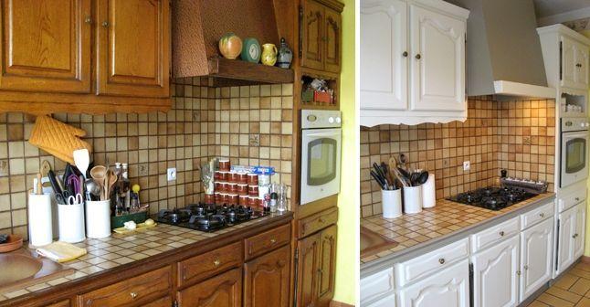 nice Idée relooking cuisine - Relooker une cuisine rustique - Peindre Du Carrelage Mural De Cuisine