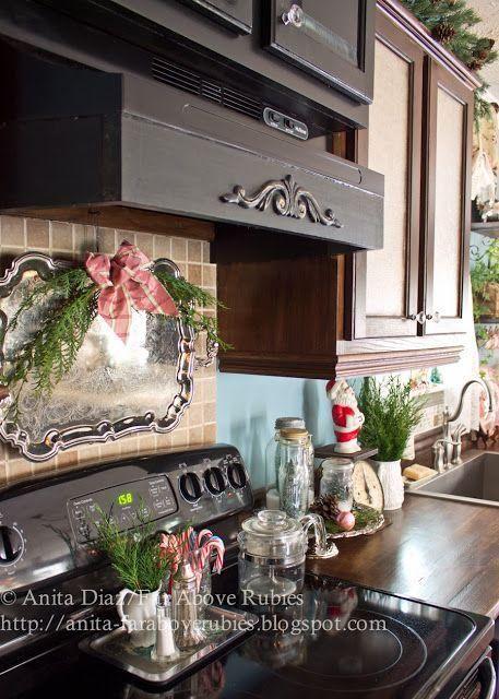 explore farmhouse christmas kitchen cozy kitchen and more