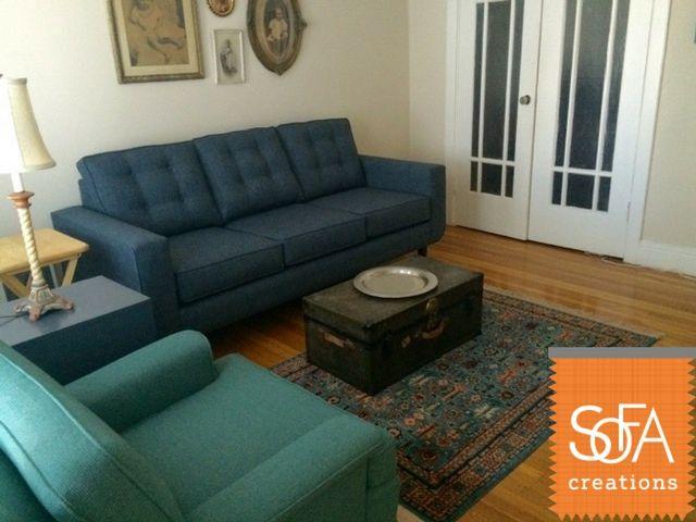 Angela Sofa With Tufting In Elite 25 Fabric Custom Sofa Quality Sofas Sofa
