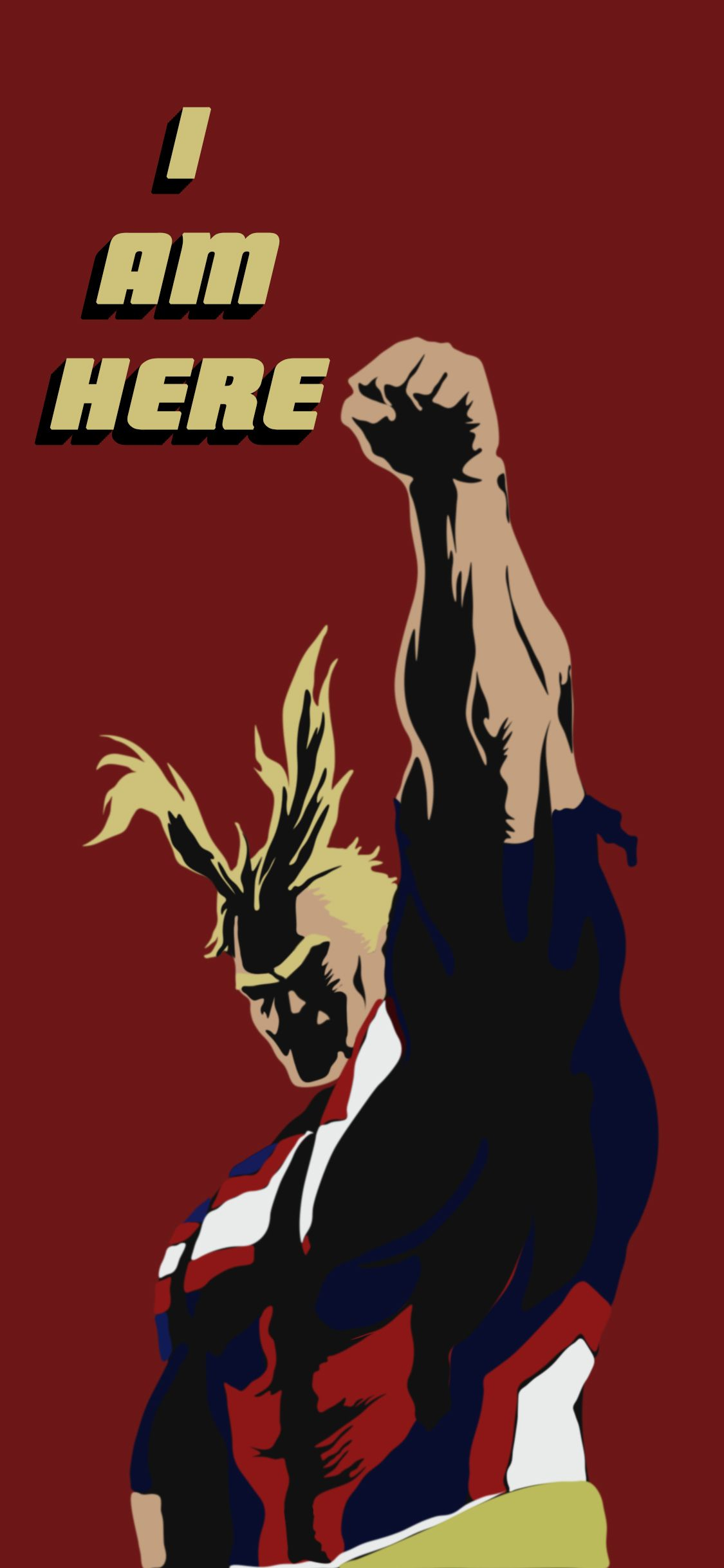 All Might Phone Wallpaper Anime Crafts Anime Wallpaper Love Wallpaper