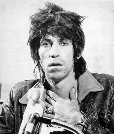 Keith Richards junk #RollingStones