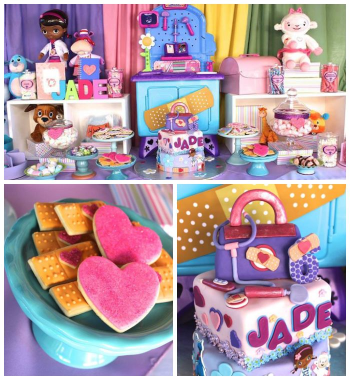 Doc McStuffins 6th Birthday Party Doc mcstuffins birthday party