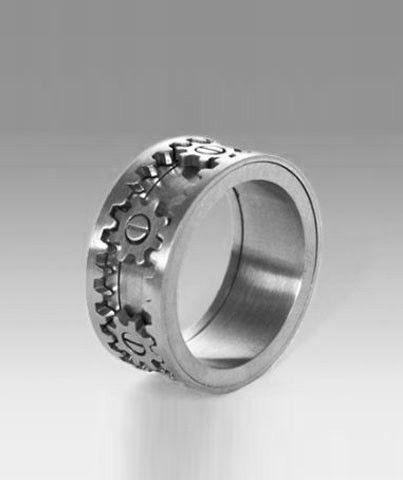 Engineers Wedding Band Wedding Rings for Men Pinterest
