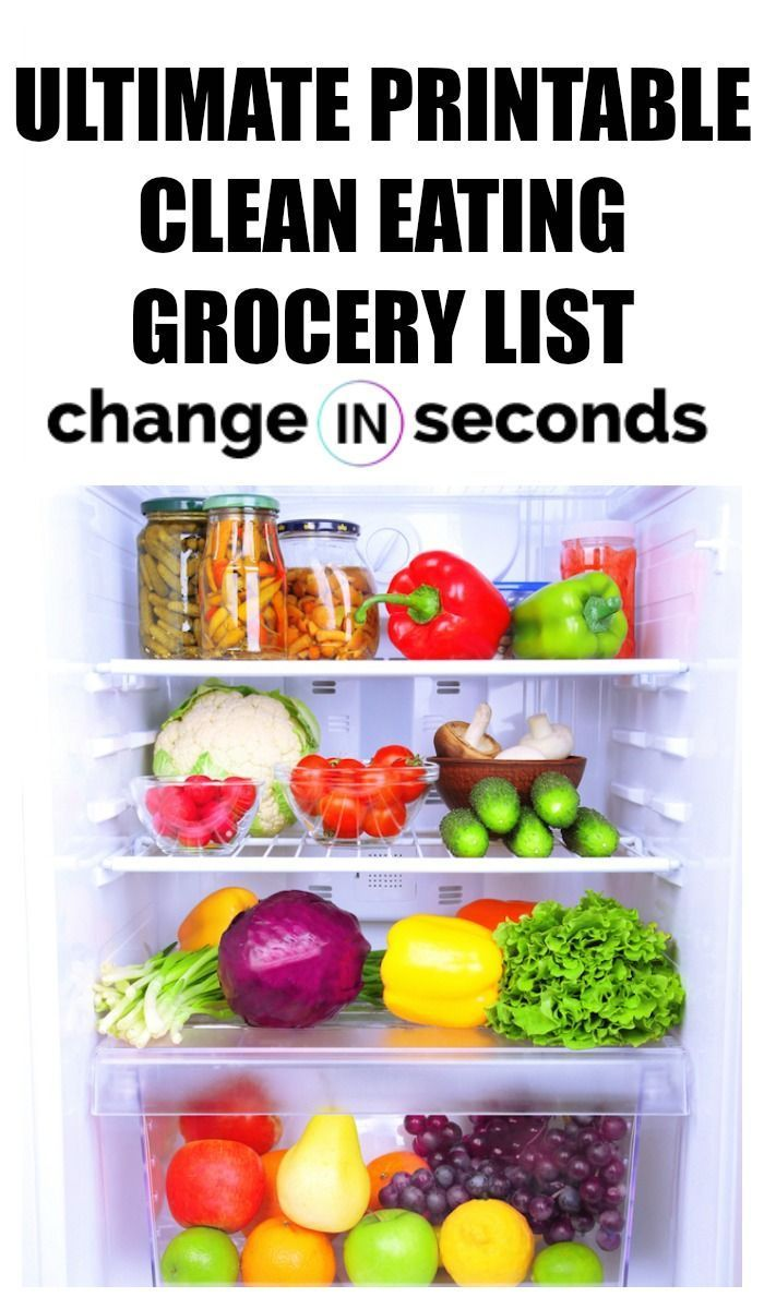Clean Eating Grocery List For Beginners (Infographic & PDF Download) #cleaneatingforbeginners Ultimate Printable Clean Eating Grocery List! This is the best healthy grocery infographic! #dietandnutrition, #diet, #nutrition, #cleaneating, #cleaneatinggrocerylist #cleaneatingforbeginners, #cleaneatingmealplan, #mealprepcleaneating, #cleaneatingforbeginners