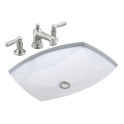 Kohler Kelston Under Mounted Vitreous China Bathroom Sink With