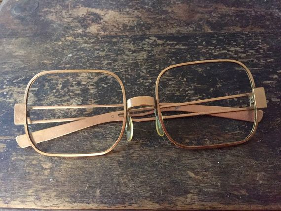 These Rare Brass Eyeglass Frames Are Fab Find Indeed Made Solely
