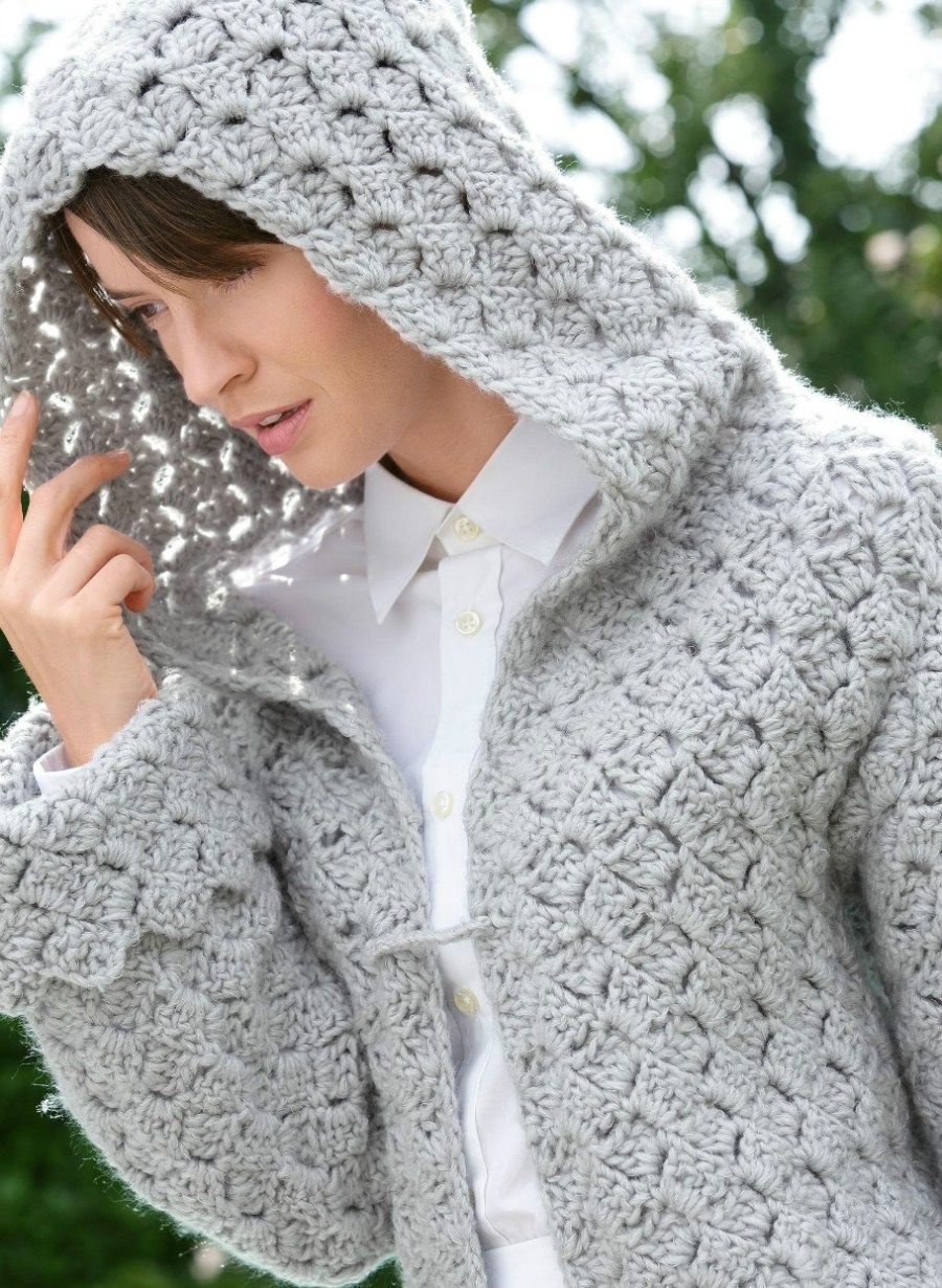 Crochet coat, free pattern | Crochet to wear | Pinterest | Crochet ...