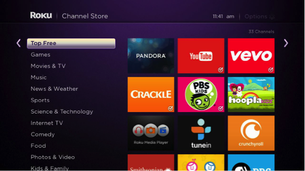 Roku's extensive Channel Store includes 1,800+ channels, but what