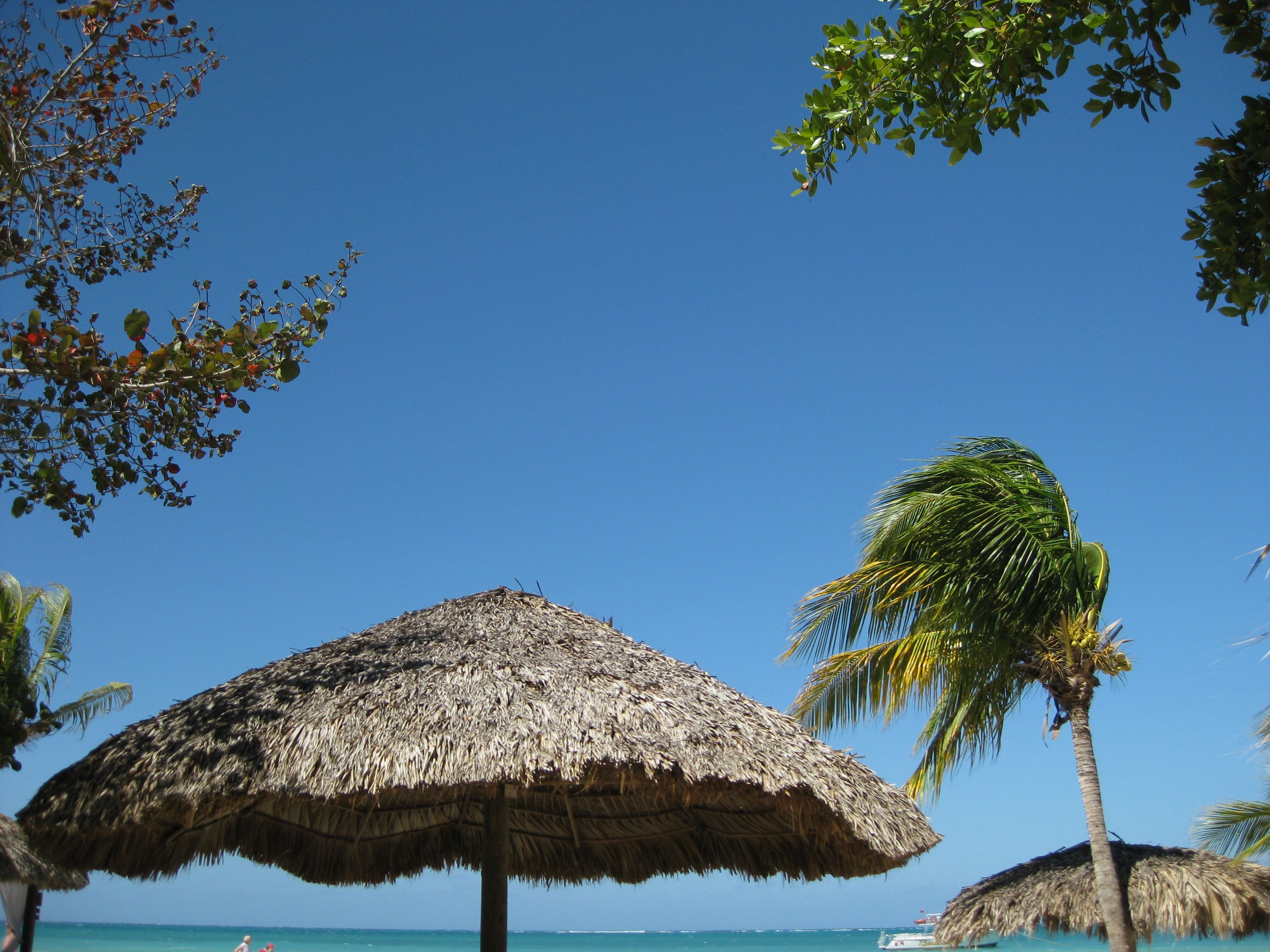 View from our beach chairs