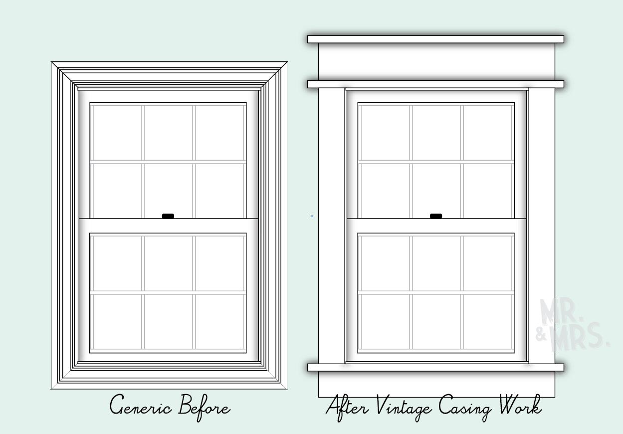 Farmhouse Exterior Window Casing Google Search Craftsman Window Trim Interior Design Colleges Craftsman Trim
