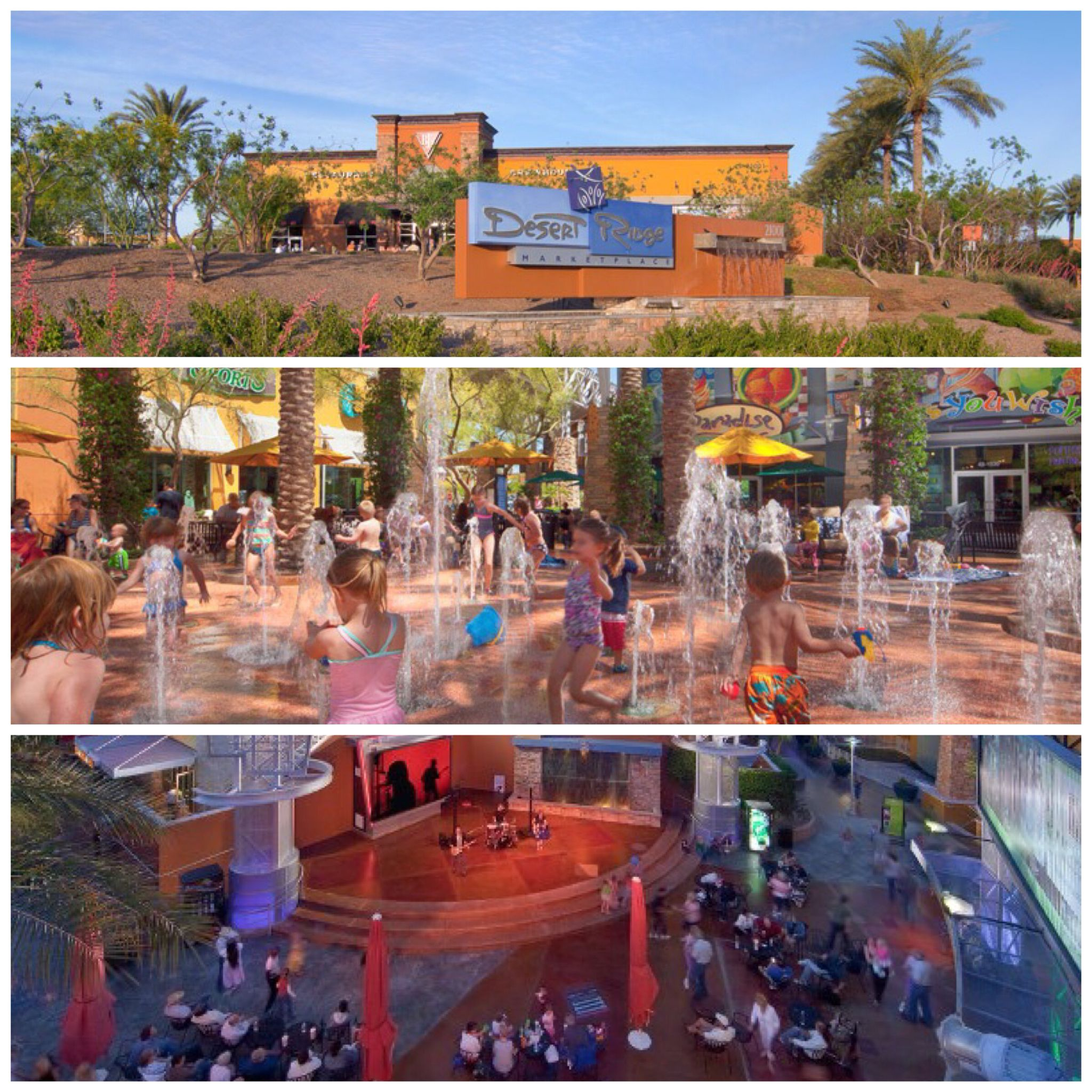 Desert Ridge Marketplace Eat Play Listen To Free Live Music At The District Stage Over 100 S Restaurants One Location