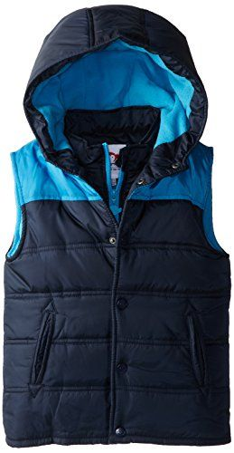 Aman Little Boys Puffy Vest Click Here For More Details