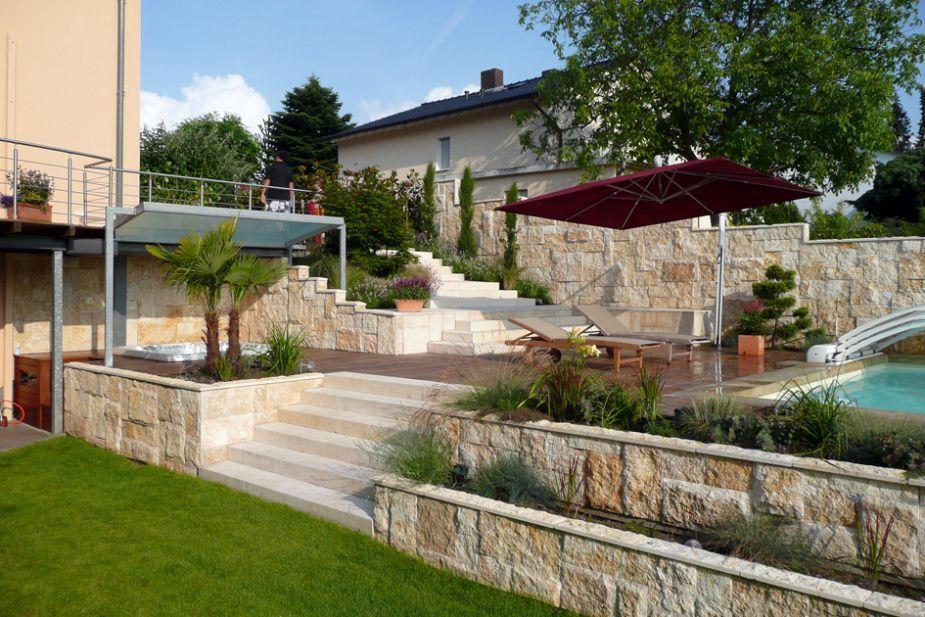 Terrasse Am Hang : pin von nebahat yenihayat auf garden gartengestaltung ~ A.2002-acura-tl-radio.info Haus und Dekorationen