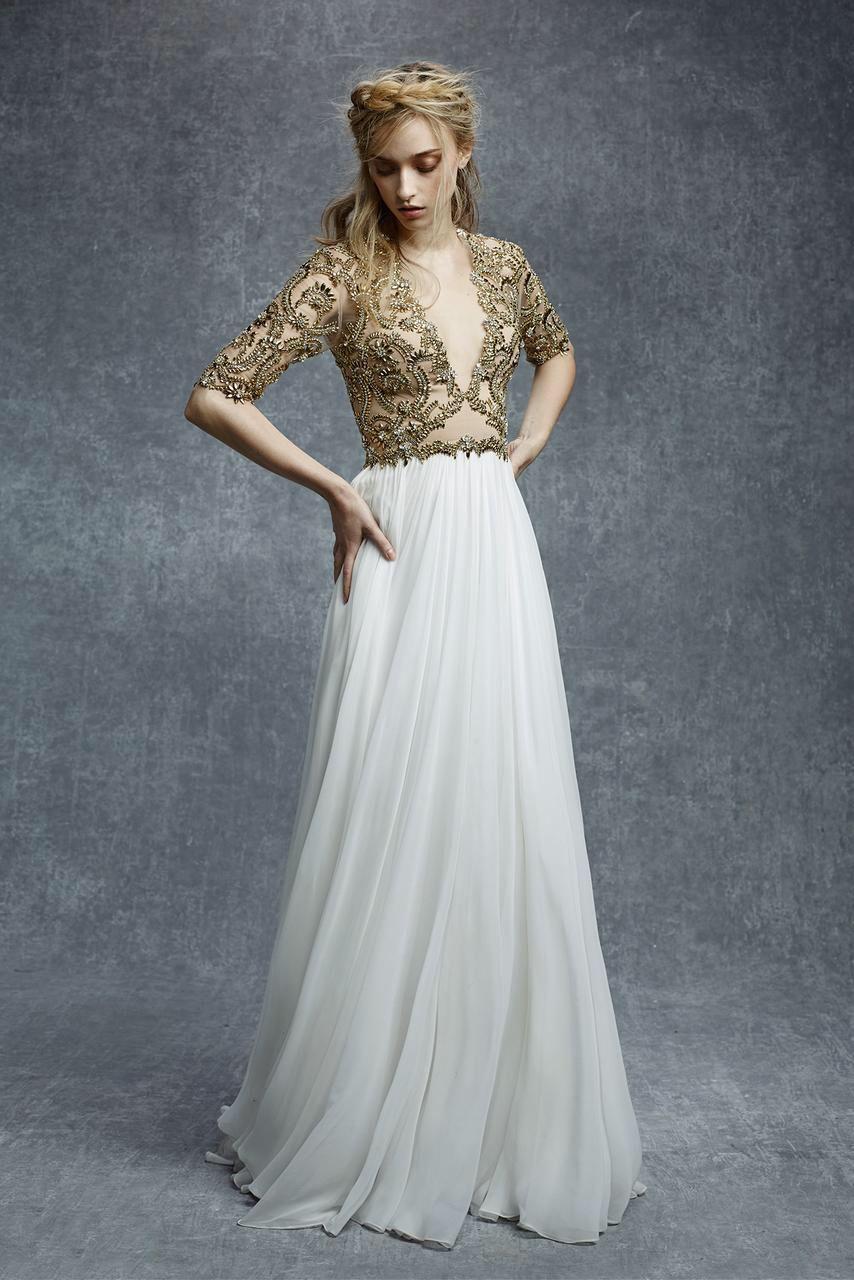 Reem acra look evening dress pinterest evening dress