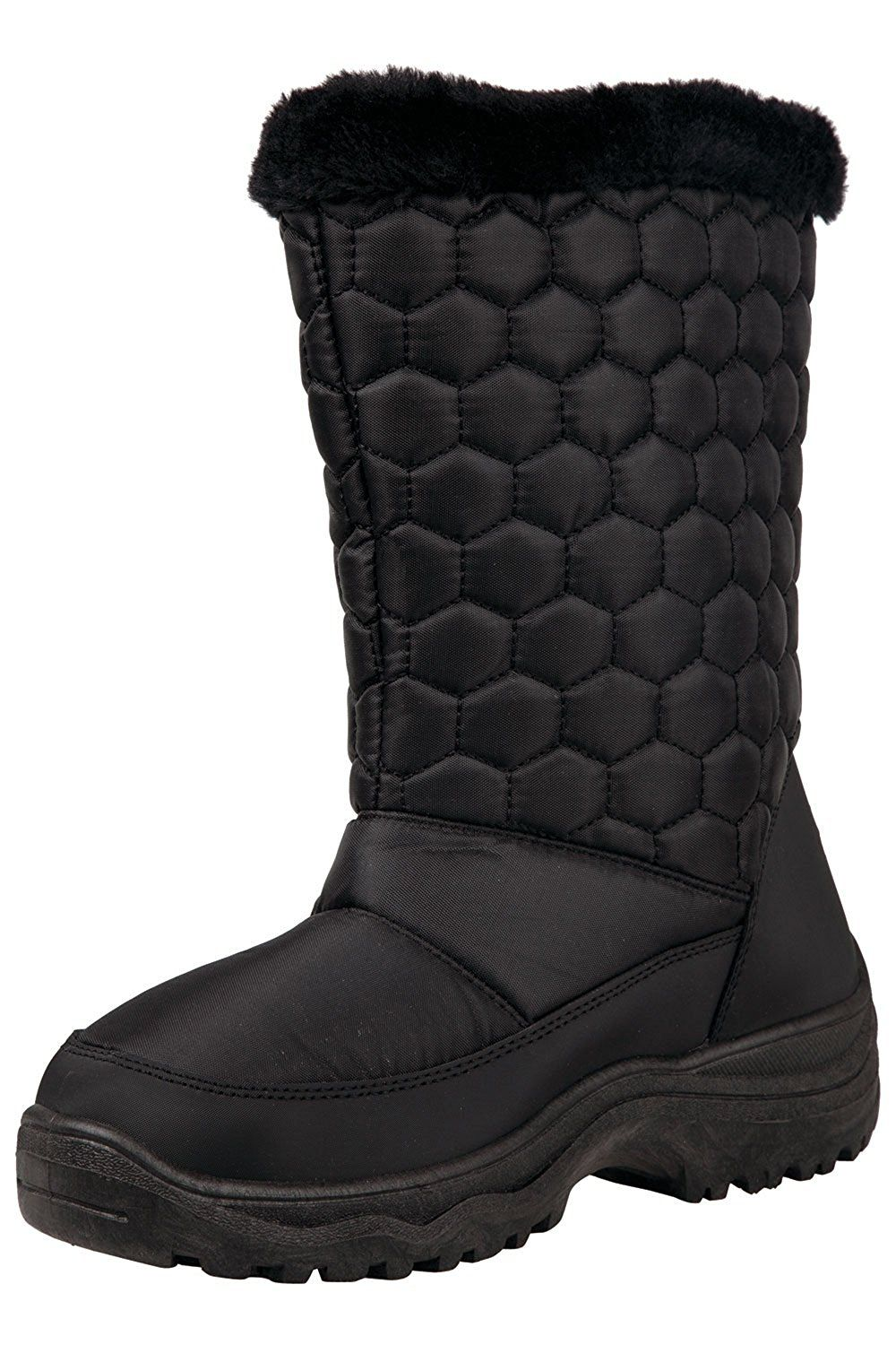 fe501db86b6 Mountain Warehouse Frosty Womens Fleece Lined Snow Boots > Don't get ...
