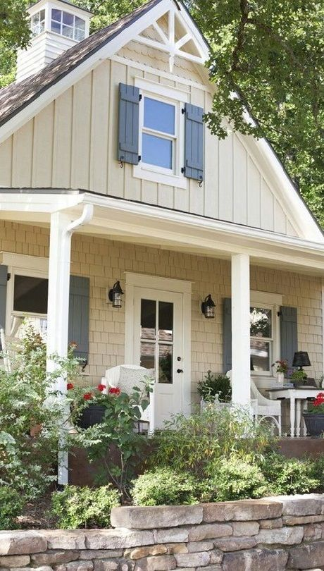 Russet Cream Exterior Paint Colors For House Exterior House Colors House Paint Exterior