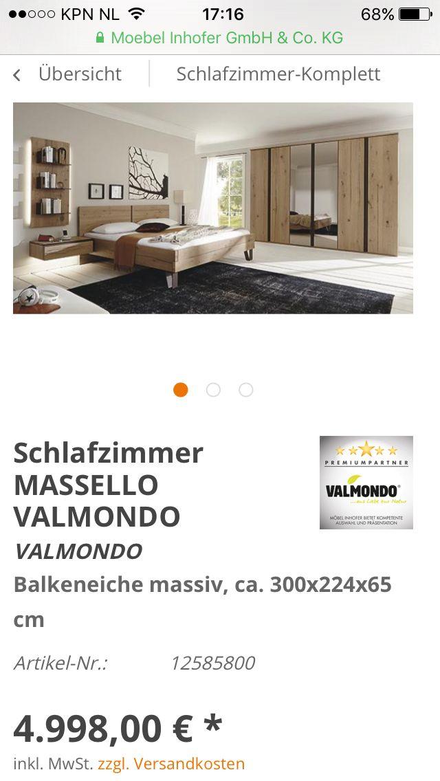 Nice Bed Xxl Lutz Massello Balken