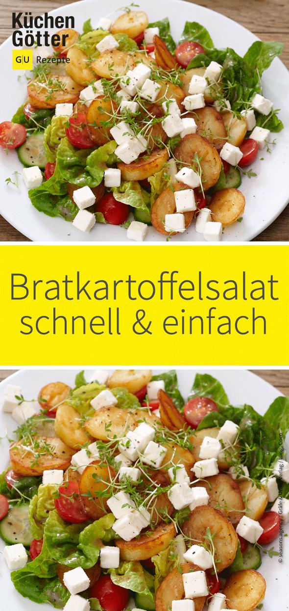Photo of Fried potato salad