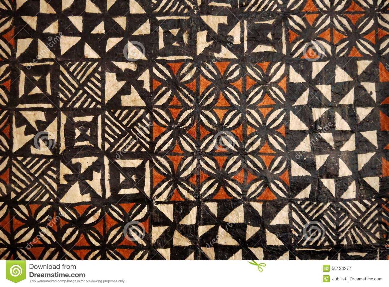 Tapa Cloth Stock Photo - Image: 50072315