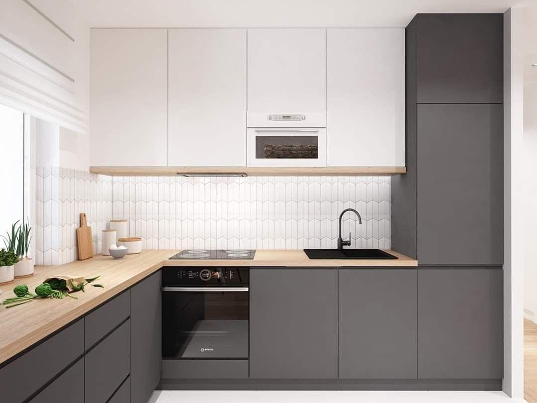 Pin By Karolina Kaszuba On Budynek Dostepny 4a Kitchen Design Small Modern Kitchen Design Modern Kitchen