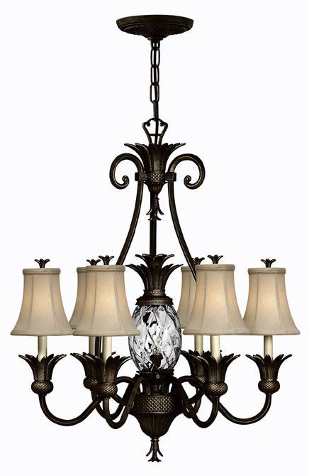 hinkley lighting plantation 5 light chandelier. hinkley lighting 4886 plantation chandelier pineapple collection - brand discount call sales to ask 5 light i