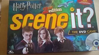 #Scene it - #harry potter 2nd #second edition -  dvd board game - complete.,  View more on the LINK: http://www.zeppy.io/product/gb/2/322413253813/