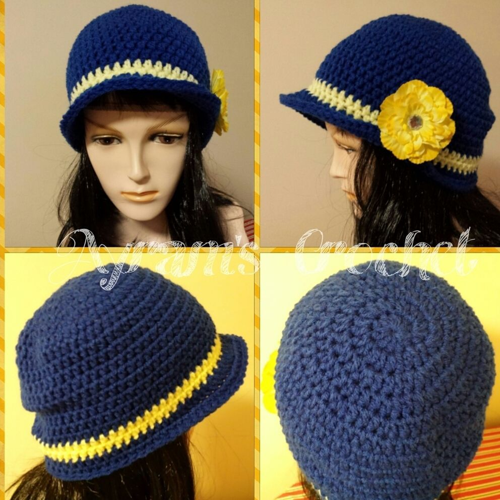 d6478a82def Daily limit exceeded. Hat FlowerCrochet ...
