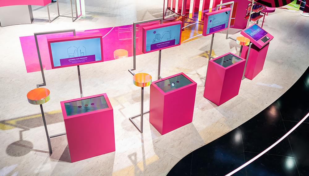 Deutsche Telekom GROSSE8 entwickelt Exponate für MWC