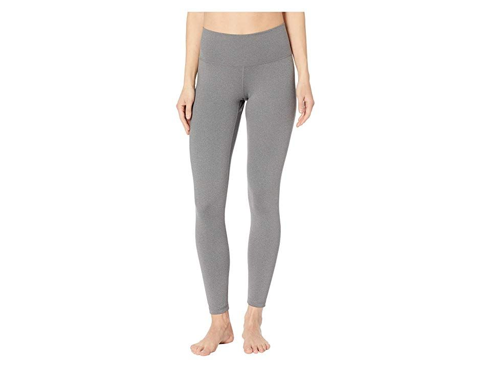 adidas Believe This HighRise 78 Tights Dark Grey Heather Womens Casual Pants Set your mind to the grind and push through in this adidas Believe This HighRise 78 Tights ad...