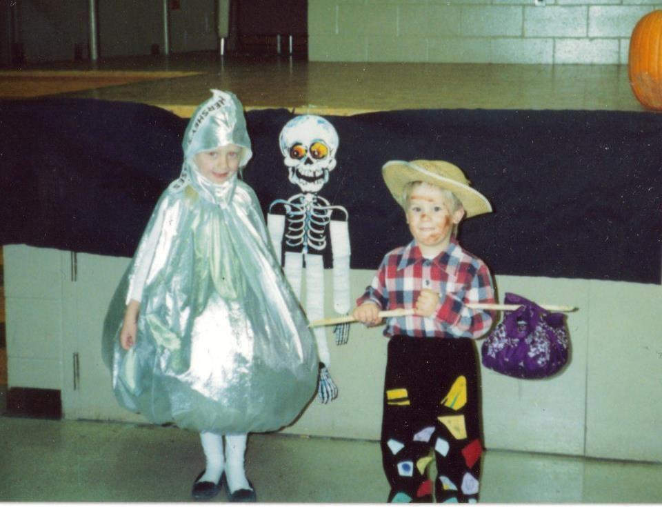 Hershey Kiss Costume 2