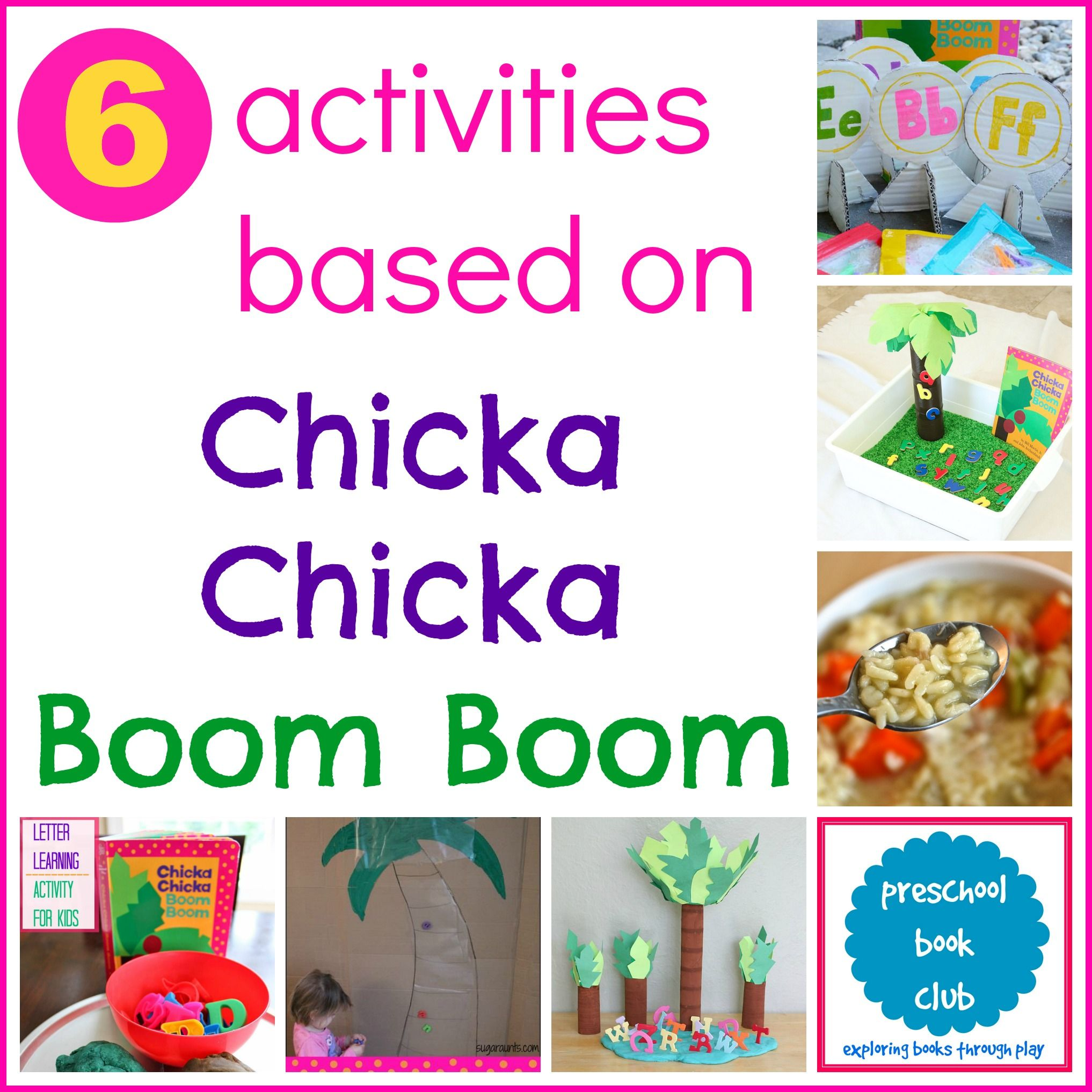 Chicka Chicka Boom Boom Activities With Images