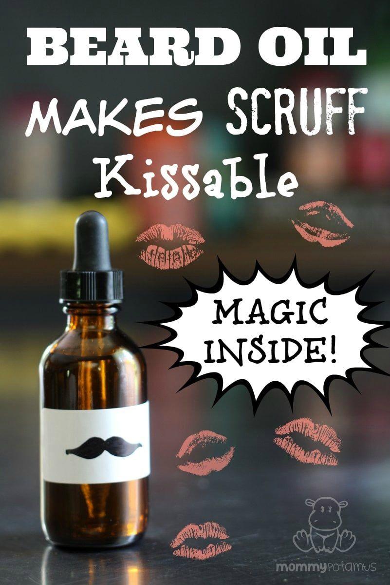 Beard Oil Recipe That Makes Scruff Kissable. (So easy, too