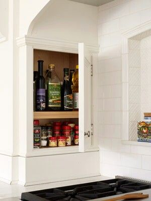 Best Small Spice Cabinet Can Be Added To Fit Between The Wall 640 x 480