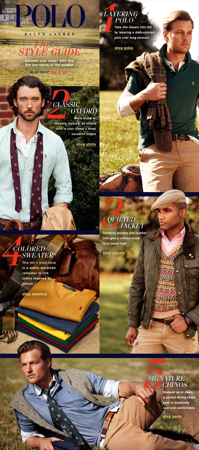 check out eb5a5 d4db6 Fall Style Guide - Polo Ralph Lauren - Men's - Macy's ...