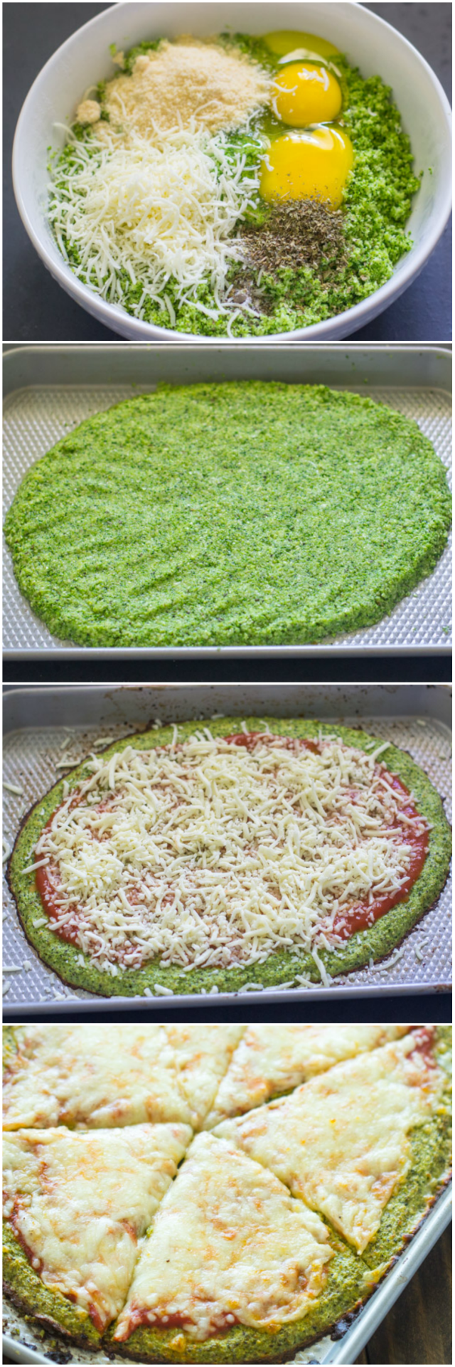 #brocolli #crust #pizza #healthy #food #meal #recipes #MeaghanElizabeth #brocollicrustpizza