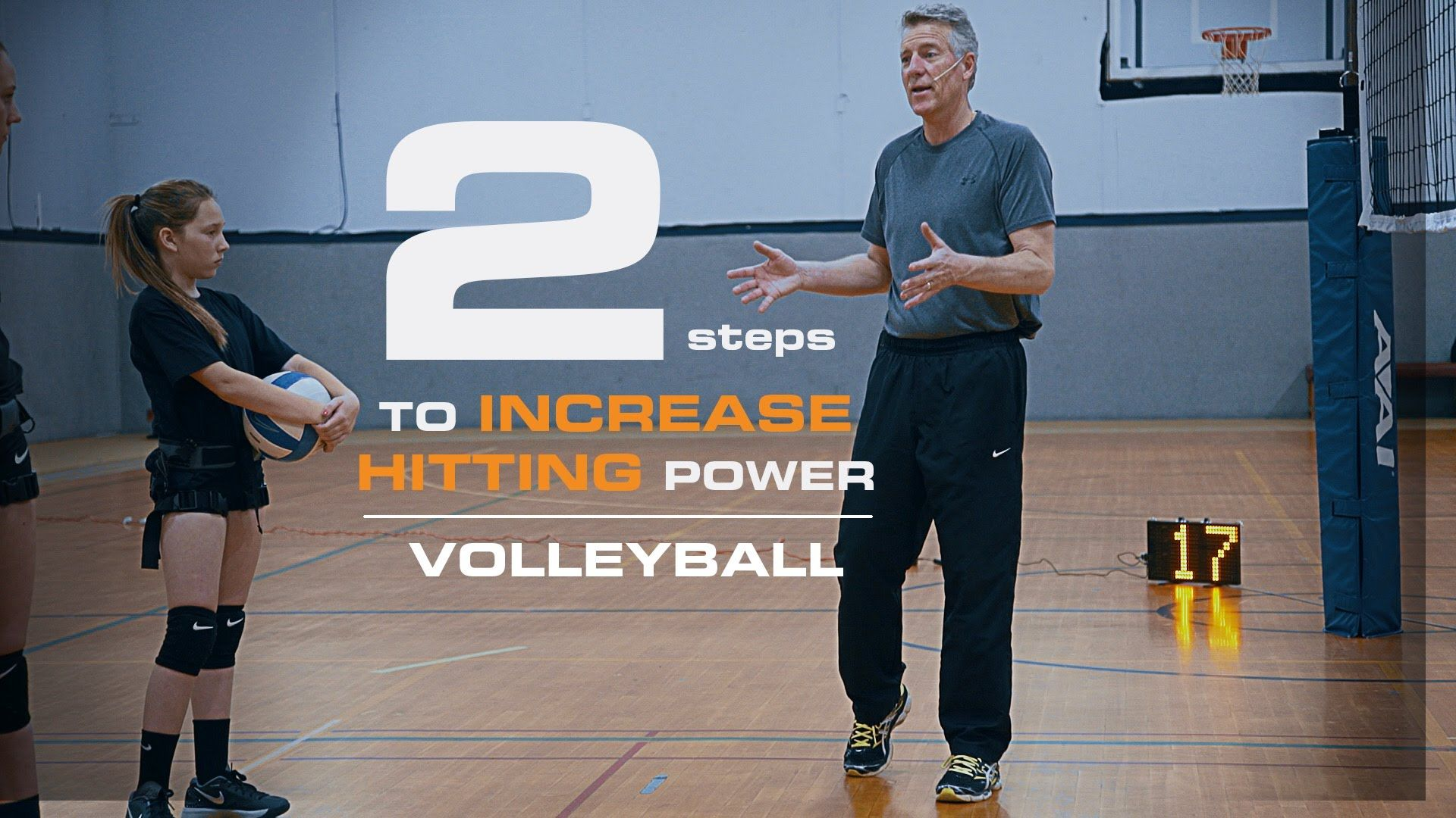 How To Hit A Volleyball Harder In 2 Steps Coaching Volleyball Volleyball Workouts Volleyball Tips