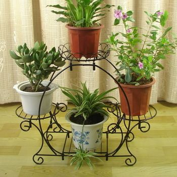 Buy Arch Style Multi Layer Iron Flower Stand Balcony Flower Diaolan Flower Fashion French Rustic Flower Pot Holder In Cheap Price On M Alibaba Com House Plants Decor Flower Stands Flower Pot Holder