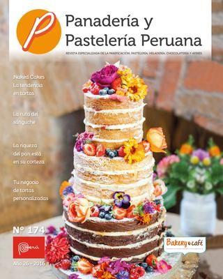 Revista Panadera y Pastelera Peruana N 174  BOOKS