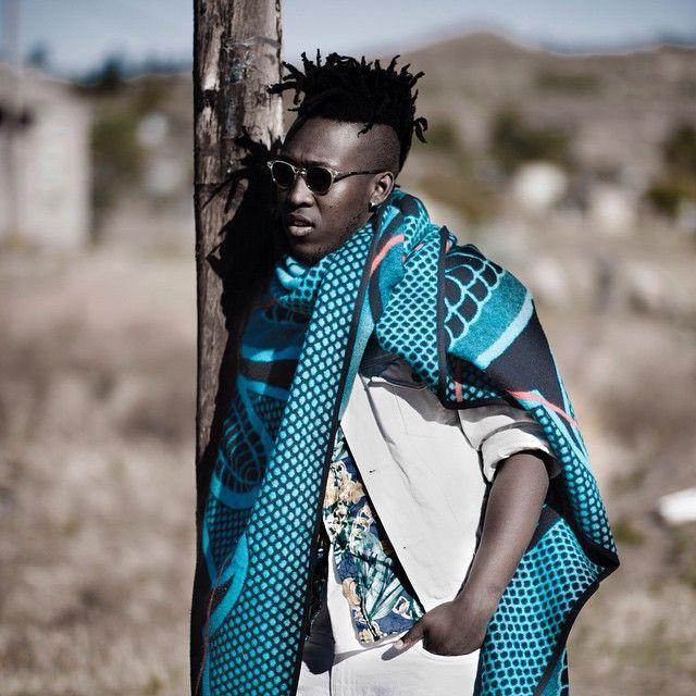 Wearing A Basotho Blanket
