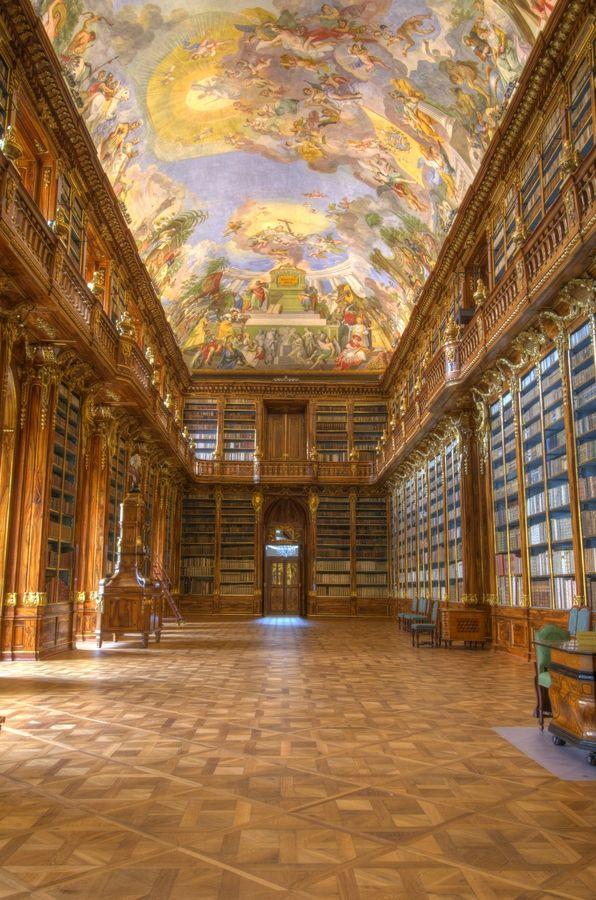 Strahovska Knihovna Strahov Library (room 2), Prague / Praga / Czech Republic / República Checa