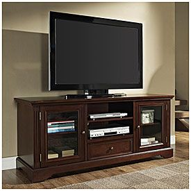 60 Quot Tv Stand With Drawer At Big Lots Home Swag Tv Stand With