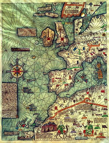 1375 art history pinterest world map poster wall world map ancient world by mapsandposters gumiabroncs Gallery