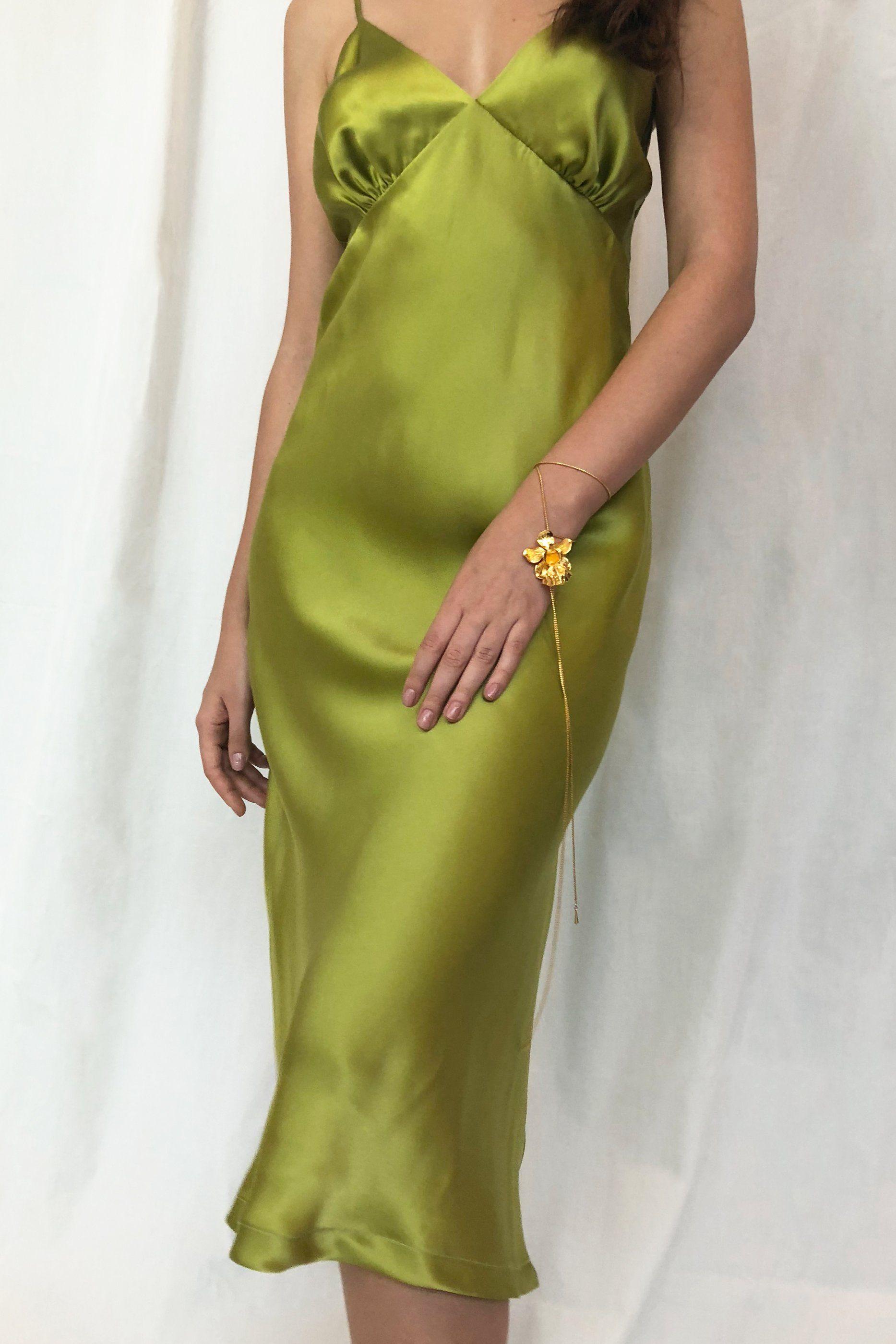 Ms Olive Stolen Stores In 2021 Dresses Silk Slip Dress Slip Dress