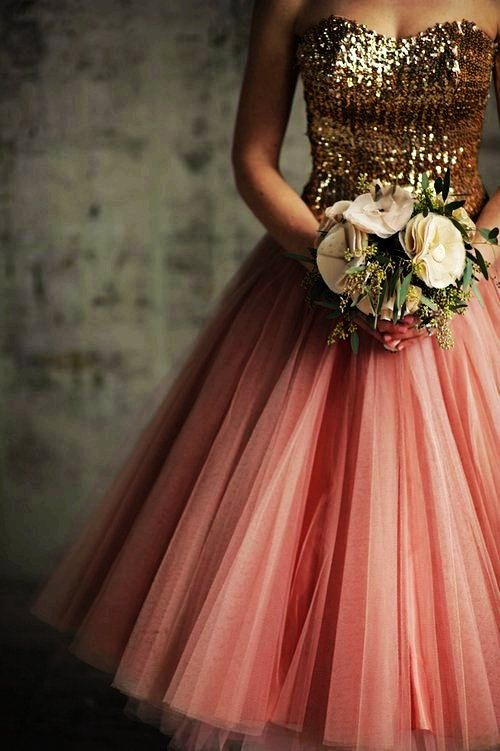 1000  images about pink and gold on Pinterest - Flower girl ...