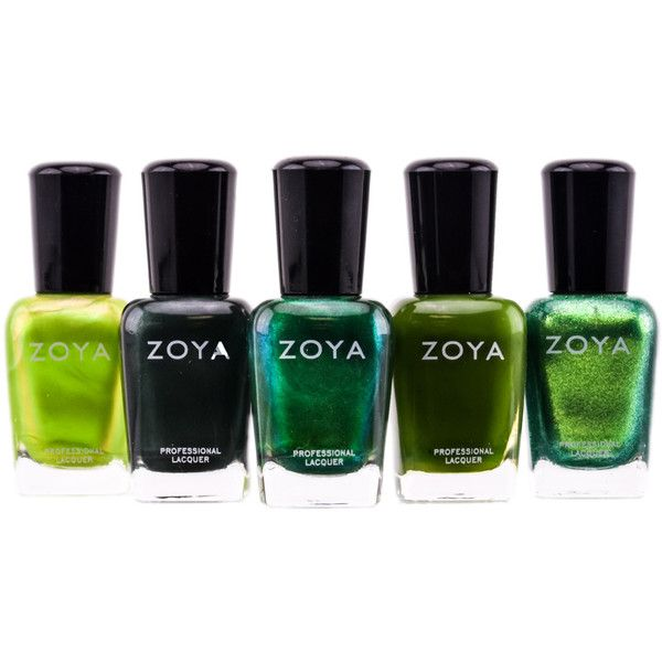 Zoya Natural Nail Polish Green ($7.49) ❤ liked on Polyvore ...